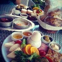 Photo taken at Kral Cafe by Seda T. on 9/1/2013