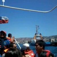 Photo taken at En la mar by Catalina A. on 11/18/2012