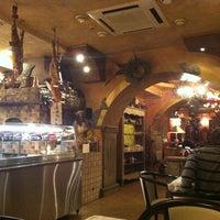 Снимок сделан в Momento / Моменто пиццерия пользователем Elizaveta 10/11/2012