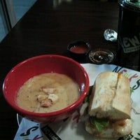 Photo taken at Newk's Express Cafe by Kathy B. on 11/8/2012