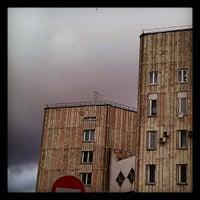 Photo taken at Бассейн Института Биоорганической Химии by Ira K. on 10/11/2012