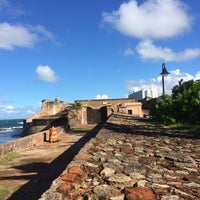 Photo taken at San Gerónimo Fort by Loni F. on 12/6/2013