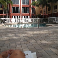 Photo taken at Pool at Holiday Inn Express & Suites by Loni F. on 10/4/2013