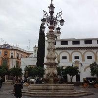 Photo taken at Virgen de los Reyes Square by Abel M. on 11/7/2012