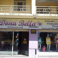 Photo taken at Dona Bella Modas by Nedson P. on 5/11/2013