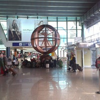 Photo taken at Leonardo da Vinci–Fiumicino Airport (FCO) by Anastasia A. on 5/6/2013