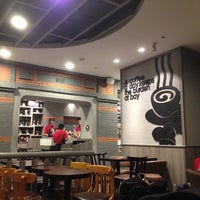 Photo taken at Pacific Coffee by Zhang X. on 7/26/2014