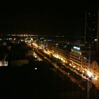 Photo taken at El Hana International Hotel Tunis by Farouk M. on 12/19/2012