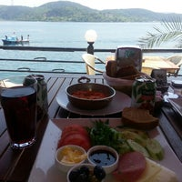 Photo taken at Göze Teras Cafe by Merve Ş. on 5/18/2013