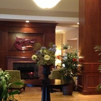 Photo taken at Hilton Garden Inn by Anthony S. on 10/14/2012