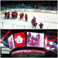 Photo taken at Арена 2000 Локомотив / Arena 2000 Lokomotiv by Наталья Г. on 2/21/2013