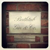 Photo taken at Bathtub Gin & Co. by Eric 'Otis' S. on 4/12/2013