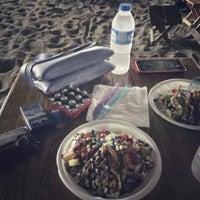 Photo taken at Susanoğlu Waffle Beach by Berna B. on 8/20/2018