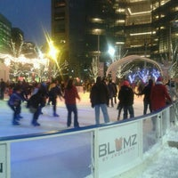 Photo taken at Campus Martius by Tim F. on 12/29/2012
