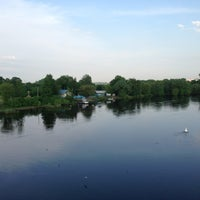 Photo taken at Днепровский мост by Олег on 5/16/2013