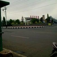 Photo taken at Usman Janatin City Park by Fatimah I. on 2/9/2013