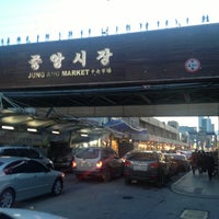 Photo taken at Gangneung Central Market by HyunJung Choi on 2/16/2013