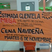 Photo taken at Mega Comercial Mexicana by Jorge D. R. on 11/5/2012