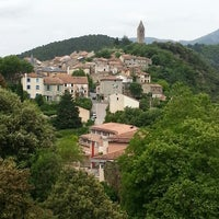 Photo taken at Olargues by Pieter v. on 6/18/2013
