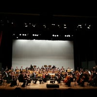 Photo taken at Teatro Escola Basileu França by Waleria G. on 3/27/2013