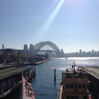 Photo taken at Circular Quay Ferry Terminal by Patricia S. on 7/11/2013