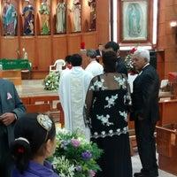 Photo taken at Iglesia Cristo Rey by Beto S. on 11/17/2014