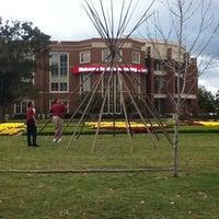 Photo taken at South Oval by Jennifer R. on 10/22/2012