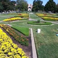 Photo taken at South Oval by Jennifer R. on 10/10/2012