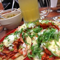 "Photo taken at Taquería La Lupita ""Ayuuk"" by Haro T. on 10/10/2012"