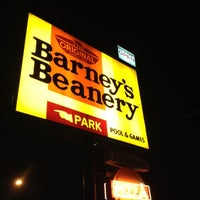 Photo taken at Barney's Beanery by Christine J. on 11/25/2012