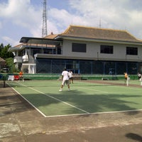 Photo taken at Tenis Out Door tirta Malang by Olly M. on 10/20/2013