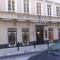 Photo taken at Best Western hotel Páv by Ellen K. on 1/27/2013