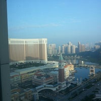 Photo taken at Sheraton Macao Hotel, Cotai Central by King Chu C. on 12/14/2012