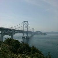 Photo taken at Onaruto Bridge by mogmogk2 on 3/17/2013