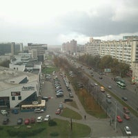 Photo taken at Общежитие БГУИР №1 by Andrey G. on 10/10/2012