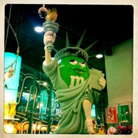 Photo taken at M&M's World by Claudio A. on 12/29/2012