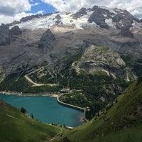 Photo taken at Lago Fedaia by Anete Paula on 7/15/2017