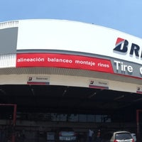 Photo taken at Tire Center by Pedro B. on 4/21/2014
