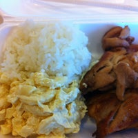 Photo taken at Q & Q Hawaiian BBQ by Tricia G. on 2/28/2013