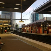 Photo taken at Parramatta Station by Елена Б. on 2/14/2013