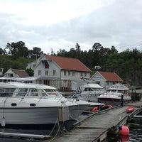 Photo taken at Kullseidkanalen Gjestehavn by Fredrik H. on 7/13/2013
