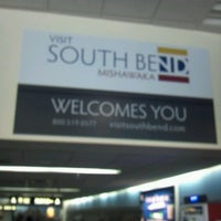 Photo taken at South Bend International Airport (SBN) by Tricia B. on 12/14/2012