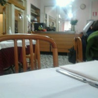 Photo taken at Ristorante Gran Sasso by Berardo D. on 12/22/2012