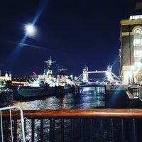 Photo taken at London Bridge City Pier by Ramon N. on 12/14/2016