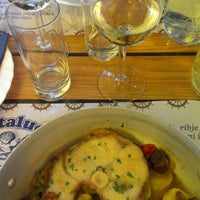 Photo taken at Pizzeria Santalucia by Damjana H. on 10/24/2012