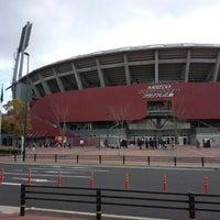 Photo taken at Mazda Zoom-Zoom Stadium Hiroshima by F14A10rqlY y. on 1/4/2013