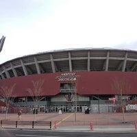 Photo taken at Mazda Zoom-Zoom Stadium Hiroshima by F14A10rqlY y. on 12/24/2012