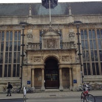 Photo taken at Oxford University Examinations Schools by Kevin C. on 11/8/2012