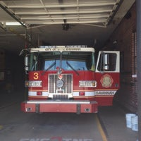 Photo taken at Firehouse #3 - Savannah Fire Department by Smokingbeest on 5/21/2015