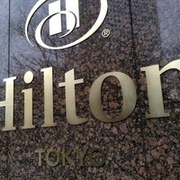 Photo taken at Hilton Tokyo by max t. on 3/28/2013